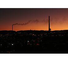 Mt. Isa at 7pm Photographic Print
