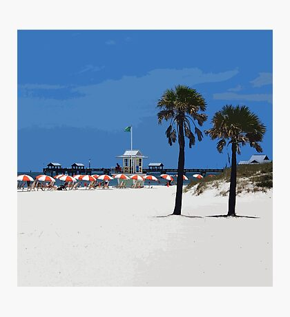Clearwater Beach Photographic Print