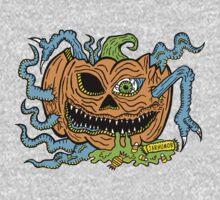 Pumpkin Creep One Piece - Long Sleeve