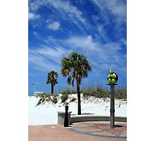 Turtle Beach, Clearwater Photographic Print