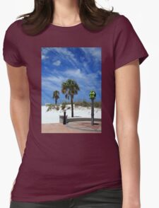 Turtle Beach, Clearwater Womens Fitted T-Shirt
