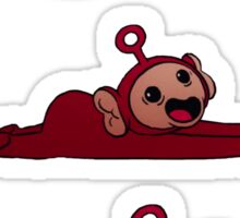 Teletubbies swimming Sticker
