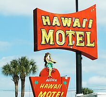 hawaii motel by Lenore Locken