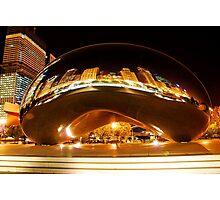 Chicago Bean Millenium Park Photographic Print