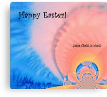 Happy Easter! Canvas Print