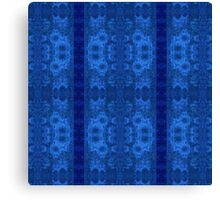 Decorative textiles-Not afraid of the blue fox II Canvas Print