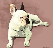 Piglet the French Bulldog by chipstick