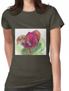 La Coquette Womens Fitted T-Shirt