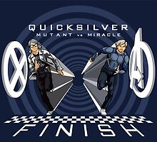 Quicksilver Mutant vs Miracle by CosmicThunder