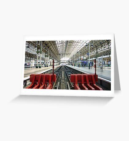 Platform 10 Greeting Card