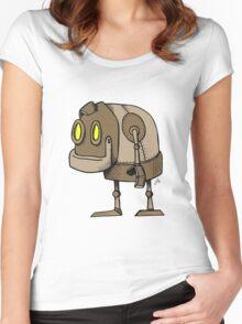 Little Robot Women's Fitted Scoop T-Shirt