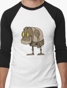 Little Robot Men's Baseball ¾ T-Shirt