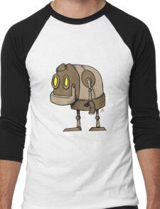 Little Robot Men's Baseball ¾ T-Shirt