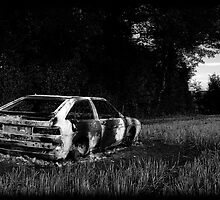 Burnt Out Scirocco by Luke Stevens