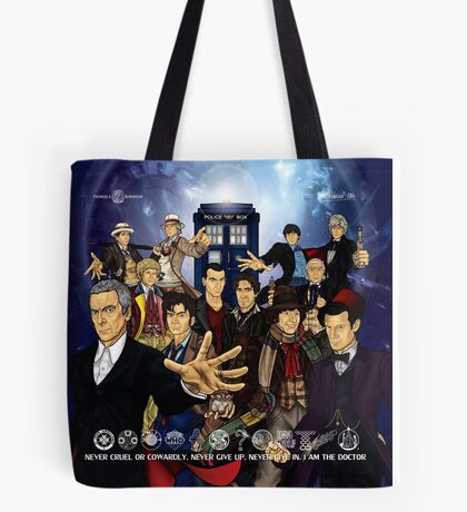 The 12 Doctors Tote Bag