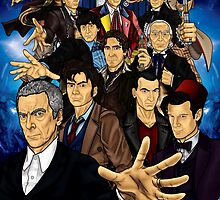 The 12 Doctors by CosmicThunder