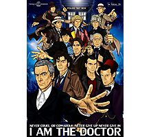 The 12 Doctors Photographic Print