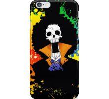 Afro Grunge Skull iPhone Case/Skin
