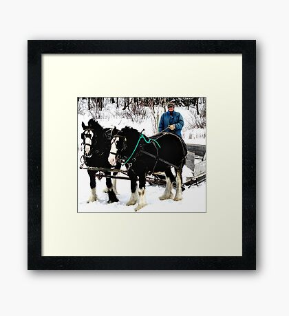 Class Is In Framed Print