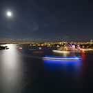 Vivid Harbour - Full Moon Rising by ShotsOfLove