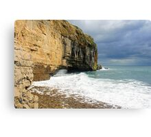 Dancing Ledge Canvas Print