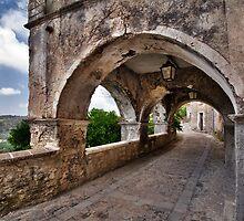 Medieval Streets of an Italian Village by Mario Curcio