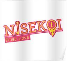 "Nisekoi ""False Love"" - Title Poster"