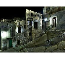 Semi-abandoned Village in Calabria, Italy Photographic Print