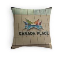 Canada Place Throw Pillow
