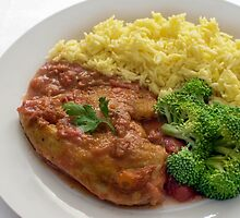 Basque Chicken In A Spicy Vegetable Sauce by Michael Redbourn