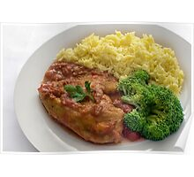 Basque Chicken In A Spicy Vegetable Sauce Poster