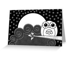 Whoot Owl Card Greeting Card