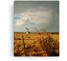 Passing Rain,Rural Geelong Canvas Print
