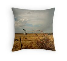 Passing Rain,Rural Geelong Throw Pillow