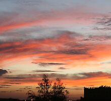 Sun setting on Marrakech by monaiman