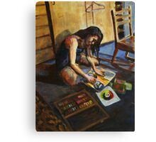 Artist at Work Canvas Print