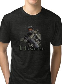 Halo Master Chief Tri-blend T-Shirt