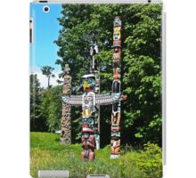 Totems Stanley Park Vancouver iPad Case/Skin