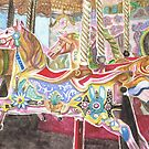 Carousel Horse by Karen  Hull