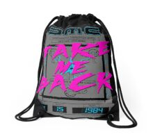 Take Me Back Drawstring Bag