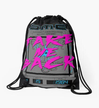 Take Me Back Drawstring Bag