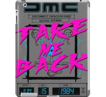 Take Me Back iPad Case/Skin