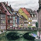 The Tudor Village by Karen  Hull