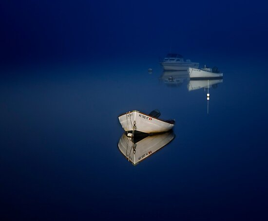 boats at night by bettywiley