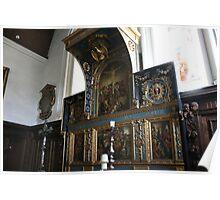 Reredos, St Mary The Virgin, Elham Poster