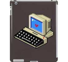8 BIT Computer - Love Heart iPad Case/Skin