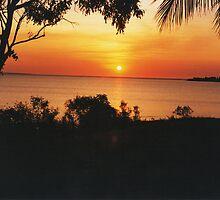 Sunset at Fanny Bay. Darwin by Matthew Sims