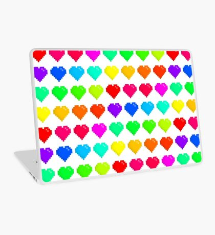 Hearts! Laptop Skin