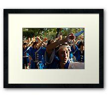 Awa Dori Framed Print