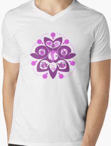 Poison-Type Mens V-Neck T-Shirt